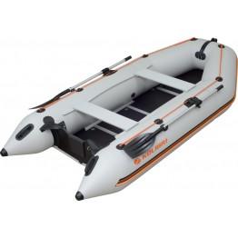 Надувная 4-местная ПВХ лодка Kolibri KM-330D (фанерный пайол)