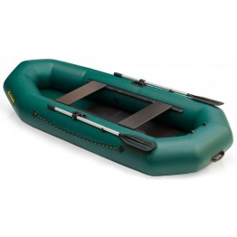 Надувная 2-местная ПВХ лодка Лидер Compakt 280