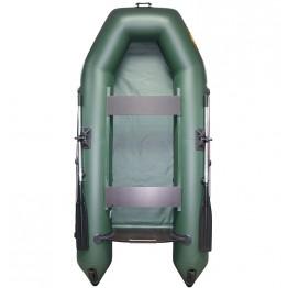 Надувная 2-местная ПВХ лодка Лодки Поволжья 2800 (зеленая)
