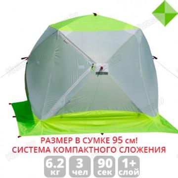Палатка зимняя Лотос Куб 3 Компакт ЭКО (2.10x2.10x1.80 м)