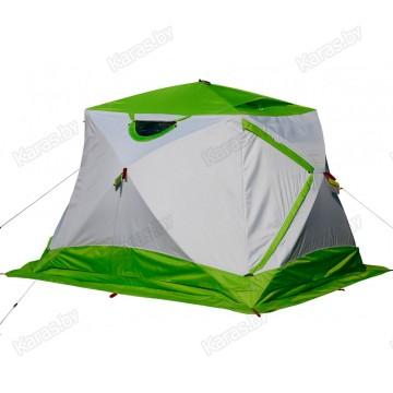 Палатка зимняя Лотос Куб 4 Компакт Термо Лонг (2.60x2.10x1.88 м)