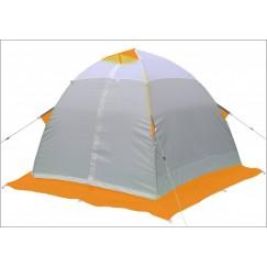 Палатка зимняя Лотос 2 оранжевая (2.40x2.30x1.50 м)