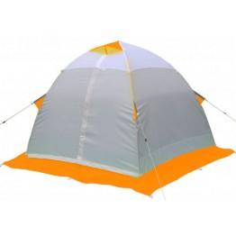 Палатка зимняя Лотос 4 оранжевая (3.10x2.70x1.70 м)