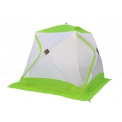 Палатка зимняя Лотос Куб Классик А8 оранжевая (2.10x2.10x1.80 м)