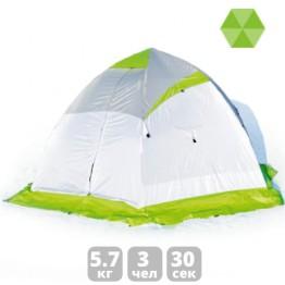 Палатка зимняя Лотос 4 (3.10x2.70x1.70 м)