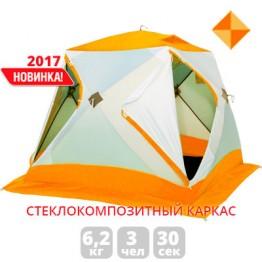 Палатка зимняя Лотос Куб Классик С9 оранжевая (2.10x2.10x1.80 м)