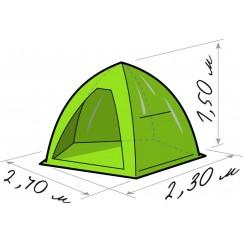 Палатка зимняя Лотос 2 (2.40x2.30x1.50 м)