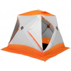 Палатка зимняя Лотос Куб 3 Классик С9 оранжевая (2.10x2.10x1.80 м)