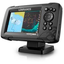 Эхолот Lowrance HOOK Reveal 5 83/200 HDI, 5 дюймов (GPS)