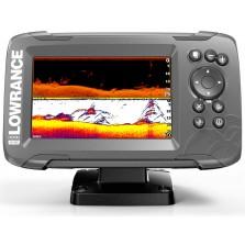 Эхолот Lowrance HOOK2 5 SplitShot, 5 дюймов (GPS)