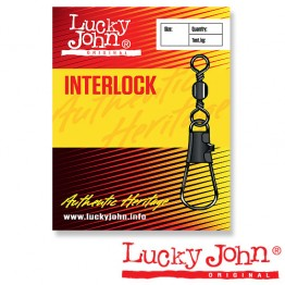 Вертлюги c застежкой Lucky John Interlock