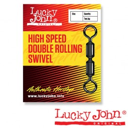 Вертлюги Lucky John High Speed Double Rolling Swivel
