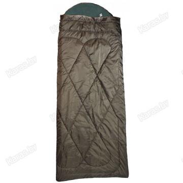 Спальный мешок Mednovtex Expert Travel 225x85 с подголовником (-25°C, на флисе)