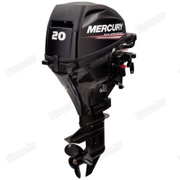 Подвесной 4-х тактный бензиновый лодочный мотор Mercury F20E EFI