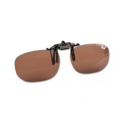 Накладка для очков поляризационная Mikado Cpon (коричневые линзы)