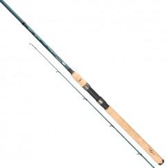 Спиннинг Mikado Apsara MID Spin 240, углеволокно, штекерный, 2.40 м, тест: 7-25 гр, 175 г