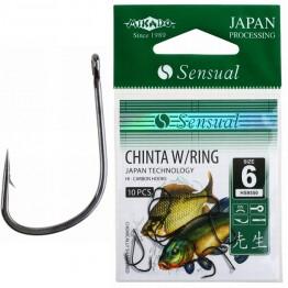 Крючки Mikado Sensual Chinta W/Ring