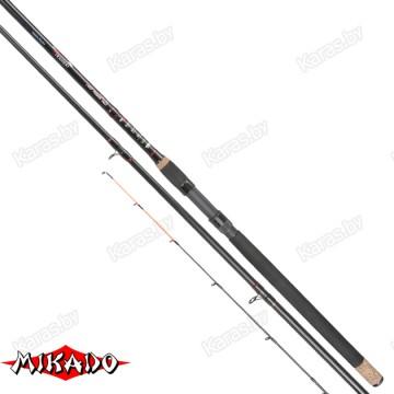 Удилище фидерное Mikado Hirameki Medium Heavy Feeder 390, углеволокно,  3.9 м, тест: до 150 гр , 388 г