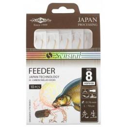 Крючки с поводками Mikado Sensual FEEDER (N)