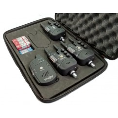 Набор сигнализаторов поклевки Mikado Carp Optima Territory с пейджером (3+1)