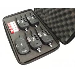 Набор сигнализаторов поклевки Mikado Carp Optima Territory c пейджером (4+1)
