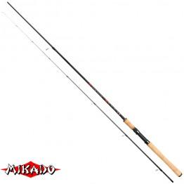Спиннинг Mikado Essential Perch 240, углеволокно, штекерный, 2.4 м, тест: 0-10 г, 145 г