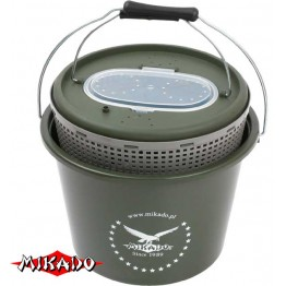 Кан рыболовный для живца Mikado UAMB-324 12 л (33x23 см)