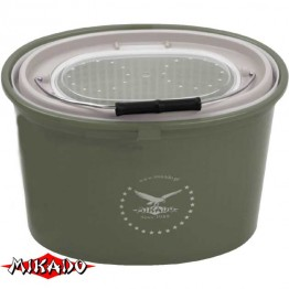 Кан рыболовный для живца Mikado UAMB-325 7 л (31x22x22 см)