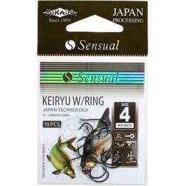 Крючки Mikado Sensual Keiryu W/Ring