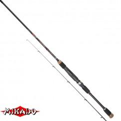 Спиннинг Mikado Hirameki X-TRA Light Spin 200, углеволокно, штеккерный, 2,0 м, тест: 1-8 г, 95 г