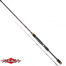 Спиннинг Mikado Hirameki X-TRA Light Spin 220, углеволокно, штеккерный, 2,2 м, тест: 1-8 г, 106 г