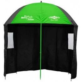 Зонт рыболовный Mikado Method Feeder с тыльной защитой