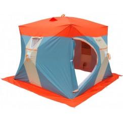 Палатка зимняя Нельма КУБ 3 Люкс (2.30x2.30x1.90 м)
