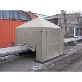 Палатка сварщика 2.5х2.5м (Брезент)