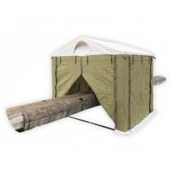 Палатка сварщика 2.5х2м (ПВХ+брезент)