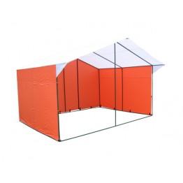 Торговая палатка Митек Домик 4.0x3.0м (квадратная трубка 20х20мм)
