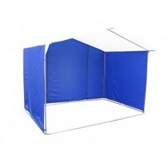 Торговая палатка Митек Домик 4.0x3.0м K (квадратная трубка 20х20мм, ПВХ)