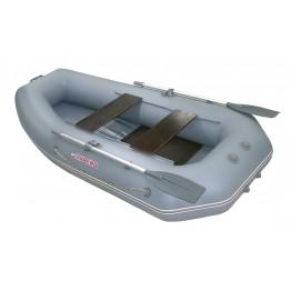 Надувная 2-местная ПВХ лодка Мурена 270 MS-2 (слань-книжка)