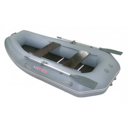 Надувная 2-местная ПВХ лодка Мурена 270 MP-2 (сборный пайол)