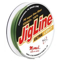 Леска плетеная Momoi JigLine Ultra Light 100 м (Зеленый)