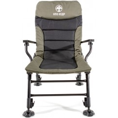 Кресло карповое с подлокотниками НПО Кедр SKC-01