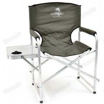 Кресло складное алюминиевое НПО Кедр AKS-07 со столиком