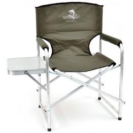 Кресло складное алюминиевое НПО Кедр со столиком AKS-05
