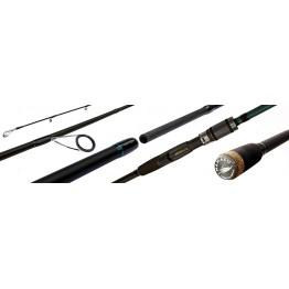 Спиннинг Namazu Pro SupaPull-Jack II, углеволокно, штекерный, 1.8 м, тест: 3-15 г, 133 г