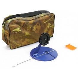 Набор жерлиц Namazu N-FTG01 неоснащенных 10 шт. в сумке, на диске 190 мм (катушка 90 мм)