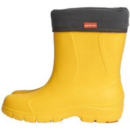 Сапоги Nordman Teen -10°C со съёмным флисовым утеплителем (желтые)