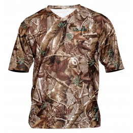 Рубашка с коротким рукавом Norfin Hunting Alder Passion Green