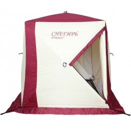 Палатка зимняя Снегирь 1Т трехслойная (1.5х1.5х1.65 м)
