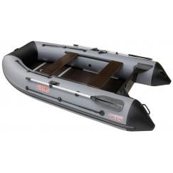 Надувная 4-местная ПВХ лодка Посейдон Викинг VN-320 H (+ ПОДАРКИ)