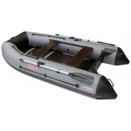 Надувная 4-местная ПВХ лодка Посейдон Викинг VN-340 H (+ ПОДАРКИ)